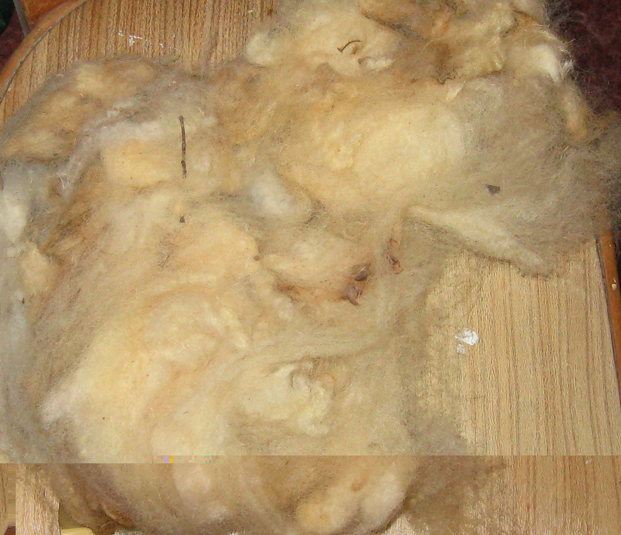 Unwashed Fleece