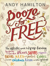 Booze for free front cover